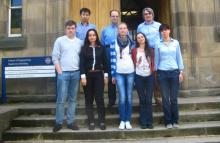 Participants of the CleanCOALtech meeting, University of Edinburgh