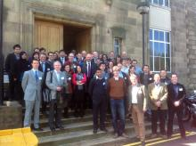 "Participants of the IChemE meeting ""Separation technologies for carbon capture"""
