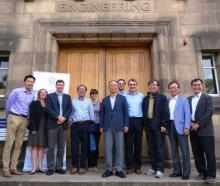 Korean delegates from KCRC and the representatives from SCCS, University of Edinburgh